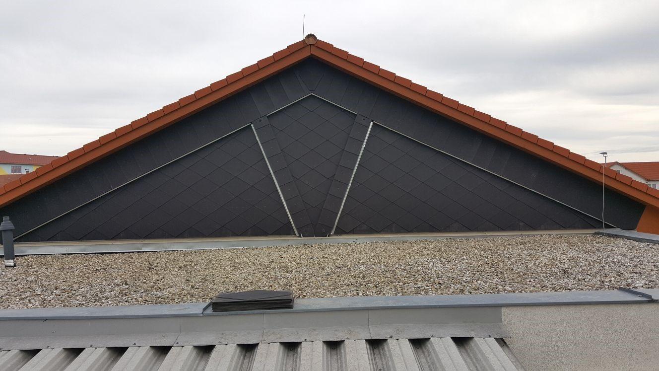 Beispielbild Billa Dach